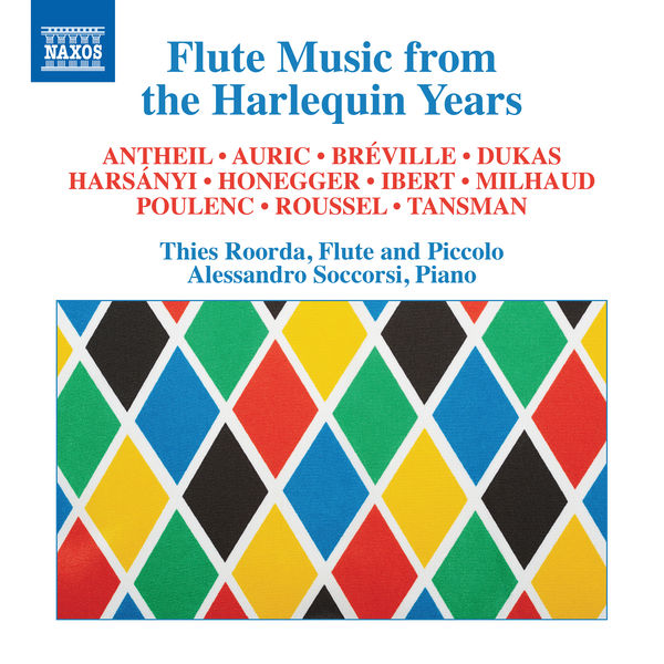 Thies Roorda - Flute Music from the Harlequin Years