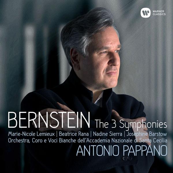 Antonio Pappano - Bernstein : Symphonies Nos 1-3, Prelude, Fugue & Riffs