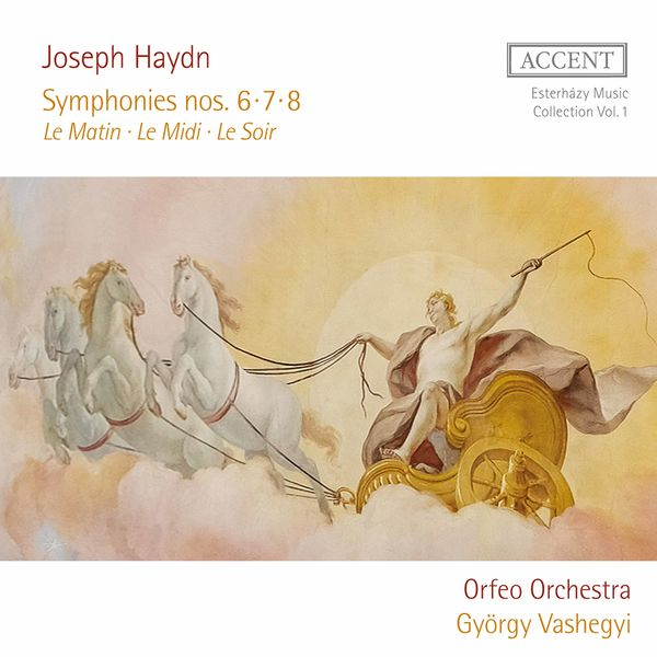 György Vashegyi - Haydn: Symphonies Nos. 6-8