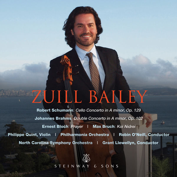 Zuill Bailey - Schumann, Brahms & Others: Works for Cello & Orchestra