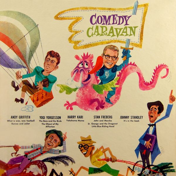 Various Interprets - Comedy Caravan