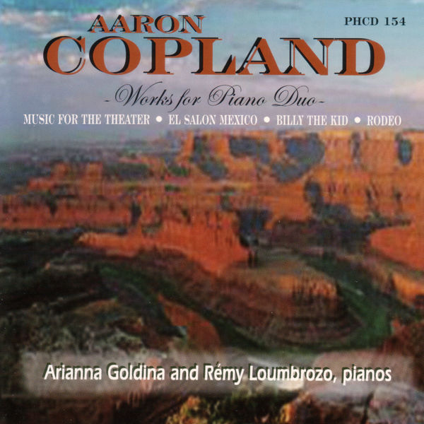 Aaron Copland - Copland Music For Piano Duo