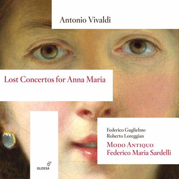 Federico Guglielmo - Lost Concertos for Anna Maria