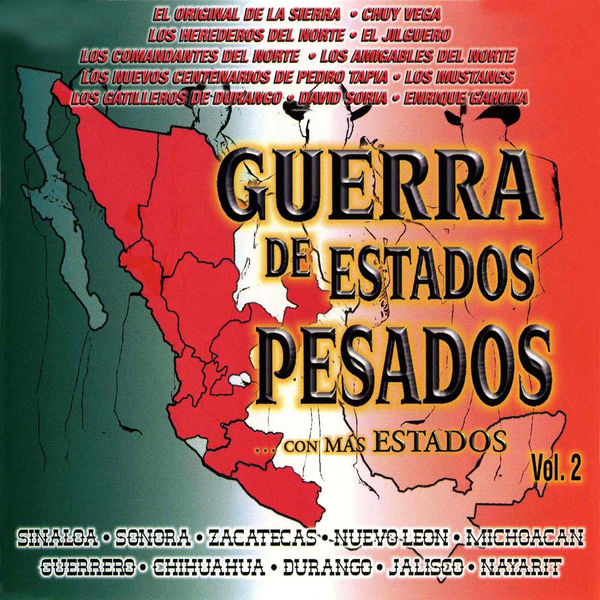 Various Artists - Guerra De Estados Pesados Con Mas Estados Vol. 2