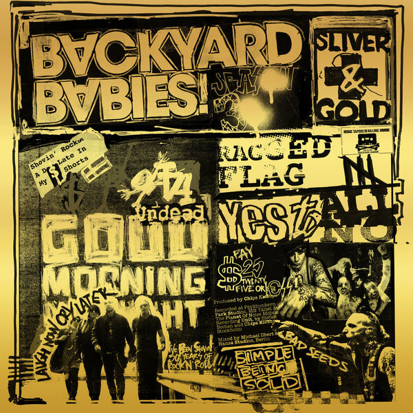 [TR24][OF] Backyard Babies - Sliver And Gold - 2019 (Rock)