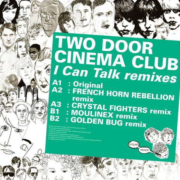 Two Door Cinema Club - Kitsuné: I Can Talk Remixes - EP