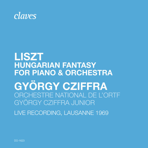 Gyorgy Cziffra - Liszt: Fantasy on Hungarian Themes, S. 123 (Live Recording, Lausanne 1969)