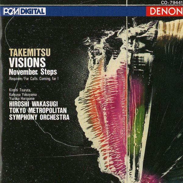 Tokyo Metropolitan Symphony Orchestra - Takemitsu: Visions, November Steps