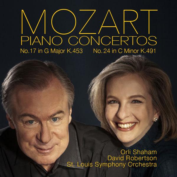 Orli Shaham - Mozart: Piano Concertos No. 17, K. 453 & No. 24, K. 491