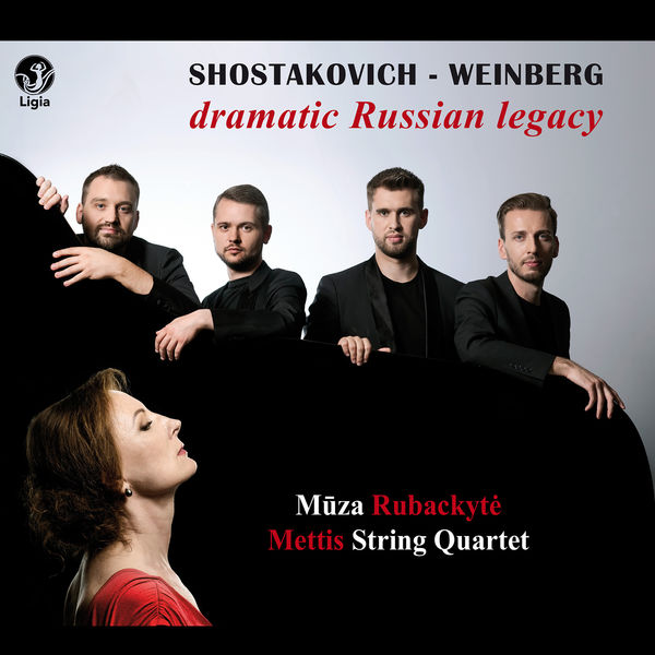 Muza Rubackyté - Shostakovich - Weinberg: Dramatic Russian Legacy