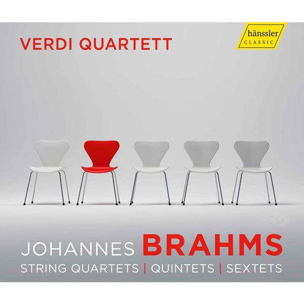 Verdi Quartet - Brahms: String Quartets, Quintets & Sextets