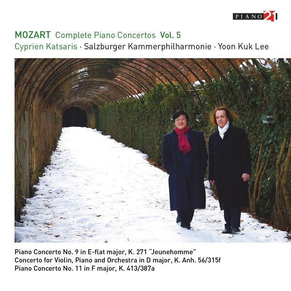 Cyprien Katsaris - Mozart: Complete Piano Concertos, Vol.5 (Live - K.271, 413, Anh.56)