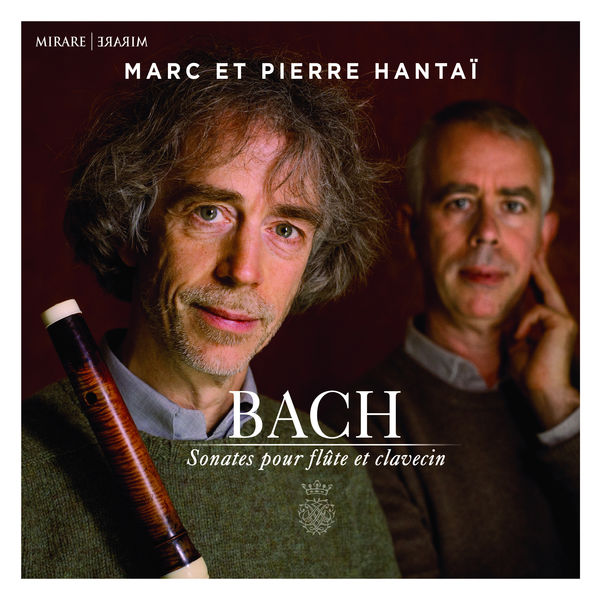 Marc Hantai - J.S. Bach : Sonatas for flute and harpsichord