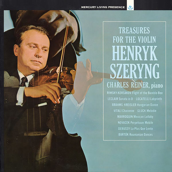 Henryk Szeryng - Treasures for the Violin