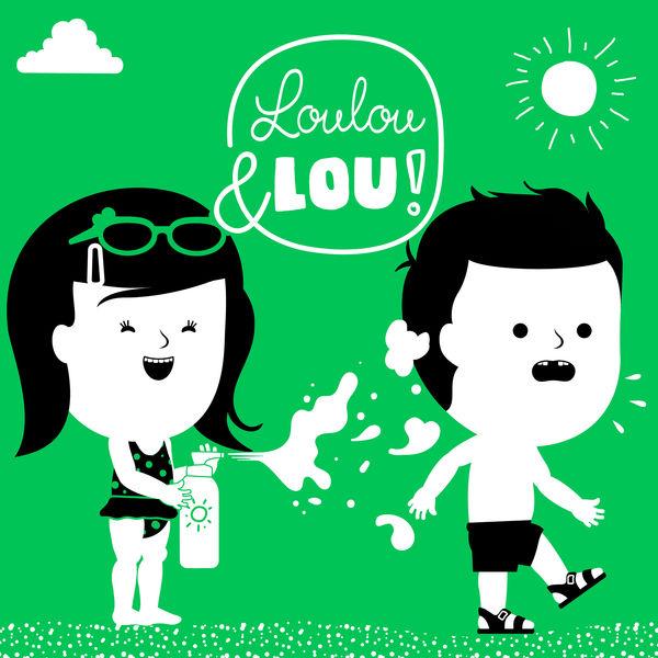 Canciones infantiles Loulou & Lou - Si Te Sientes Muy Feliz, Aplaude Así
