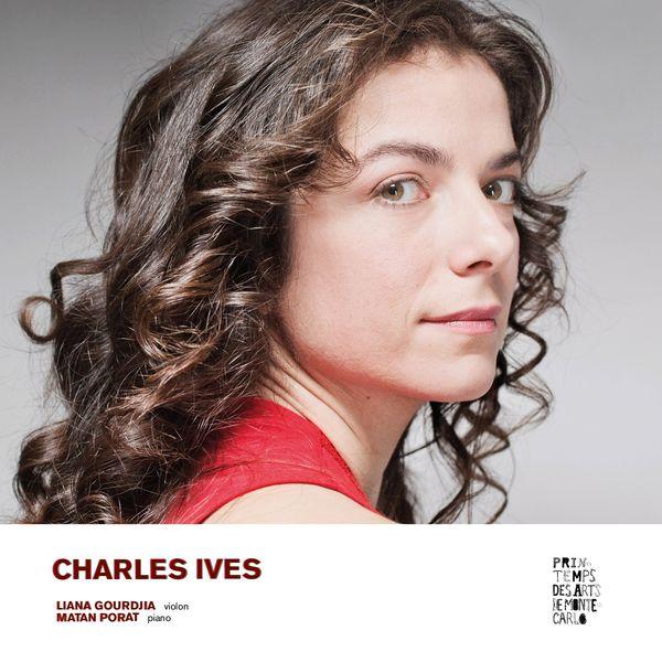 Liana Gourdjia Charles Ives : Sonatas for violin and piano