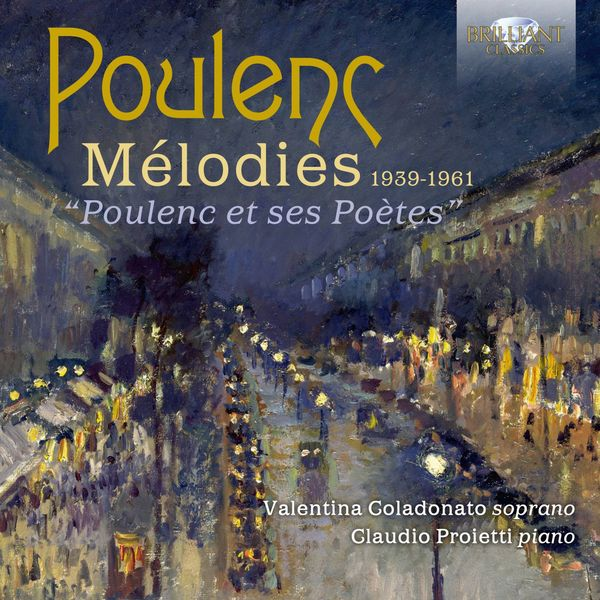 Valentina Coladonato - Poulenc: Mélodies 1939-1961
