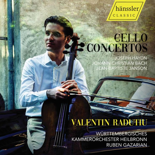 Valentin Radutiu - Haydn, Bach & Janson: Cello Concertos