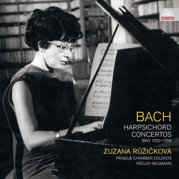 Zuzana Růžičková, Miloslav Klement, Karel Klement, Václav Neumann, Prague Chamber Soloists - Bach: Harpsichord Concertos
