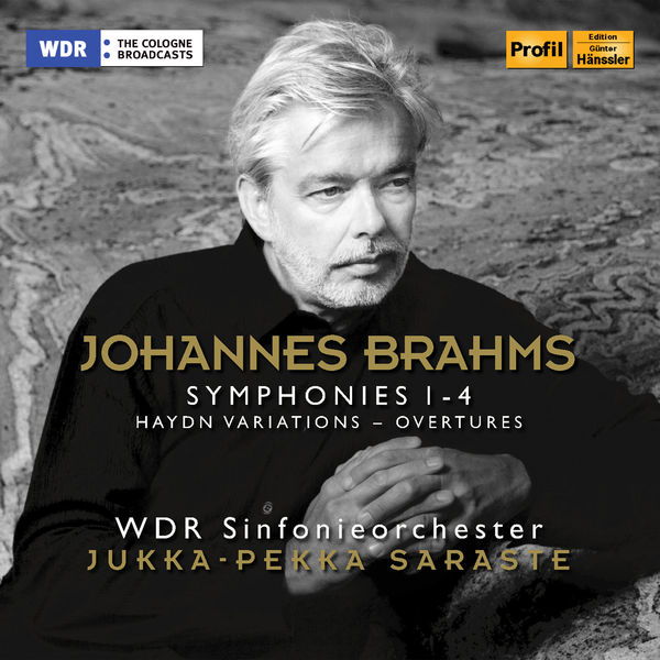 WDR Sinfonieorchester Köln - Brahms: Symphonies Nos. 1-4, Variations on a Theme by Haydn & Overtures