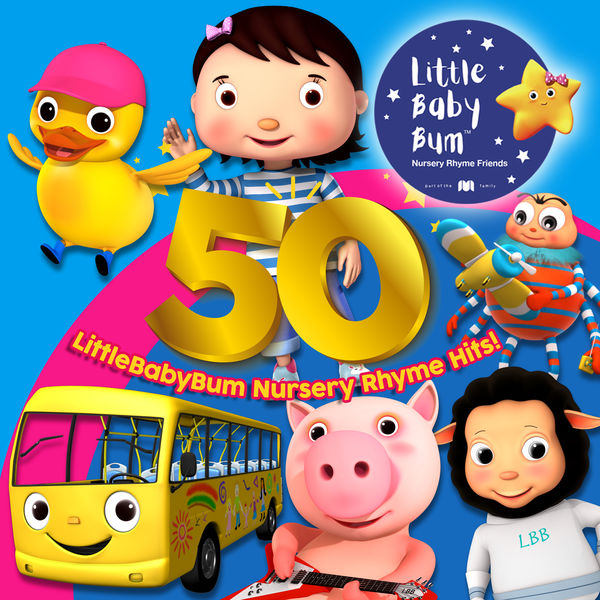 Little Baby Bum Nursery Rhyme Friends - 50 LittleBabyBum Nursery Rhyme Hits!