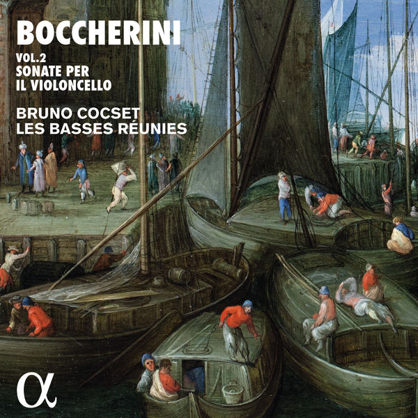Bruno Cocset - Boccherini : Sonate per il violoncello, Vol. 2