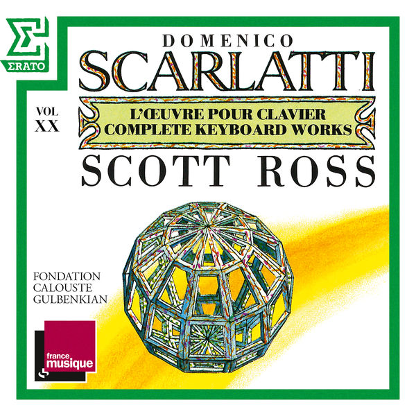 Scott Ross - Scarlatti: The Complete Keyboard Works, Vol. 20: Sonatas, Kk. 393 - 412
