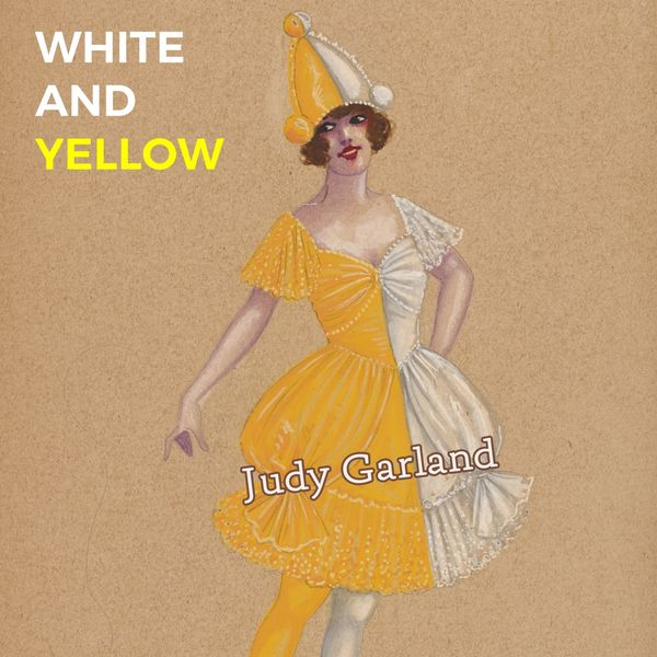 Judy Garland - White and Yellow