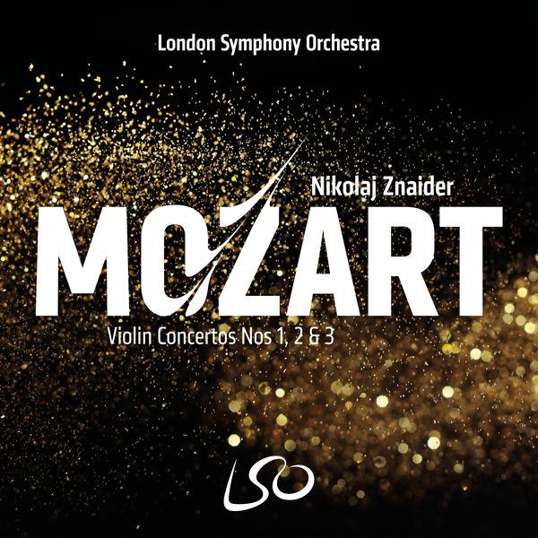 Nikolaj Znaider - Mozart : Violin Concertos Nos 1, 2 & 3