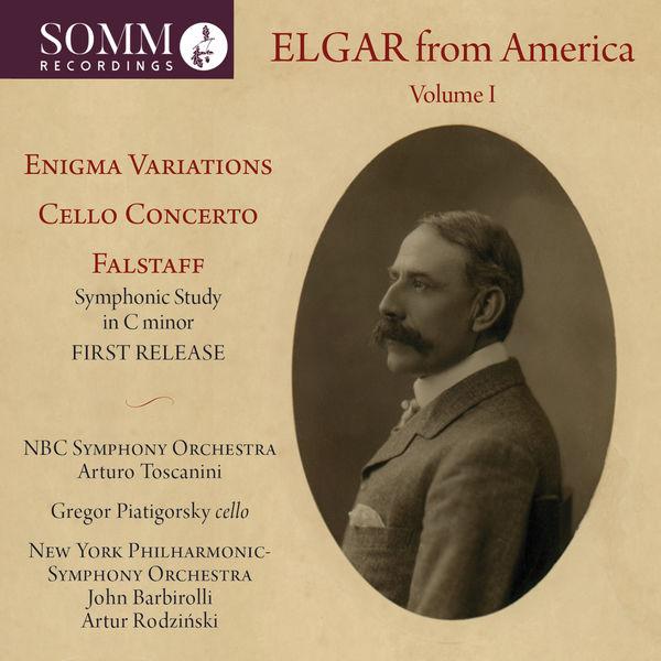 Gregor Piatigorsky - Elgar from America