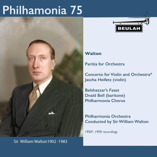 Sir William Walton - Philharmonia 75 Sir William Walton