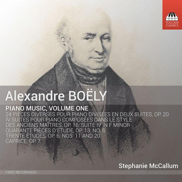 Stephanie Mccallum - Boëly: Piano Music, Vol. 1