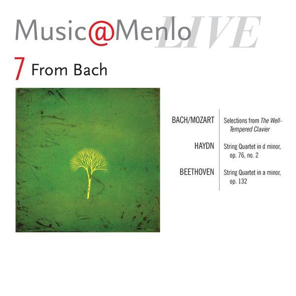 Danish String Quartet - Music@menlo, From Bach, Vol. 7