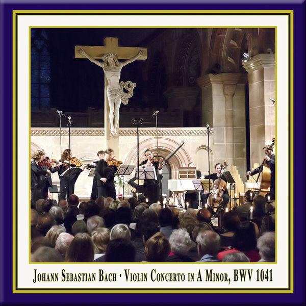 Julia Schröder - Bach: Violin Concerto No. 1 in A Minor, BWV 1041 (Live)