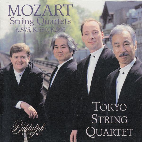 "Tokyo String Quartet - Tokyo String Quartet Plays Mozart's ""King of Prussia Quartets"""