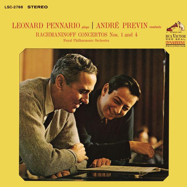 André Previn - Rachmaninoff: Piano Concerto No. 1 in F-Sharp Minor, Op. 1 & Piano Concerto No. 4 in G Minor, Op. 40