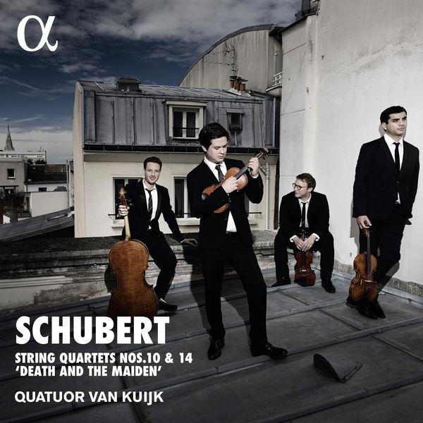 """Quatuor Van Kuijk - Schubert: Quartets Nos. 10, 14 """"Death and the Maiden"""""""