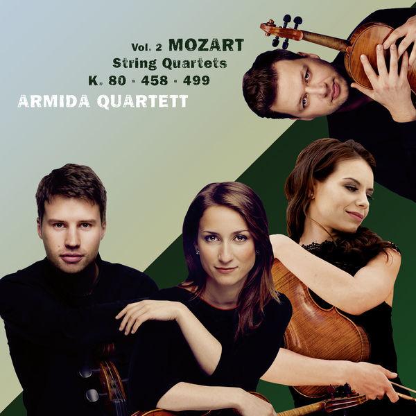 Armida Quartett - Mozart: String Quartets, Vol. 2