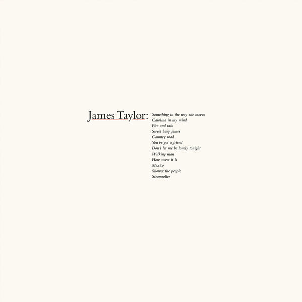 James Taylor - James Taylor's Greatest Hits (2019 Remaster)