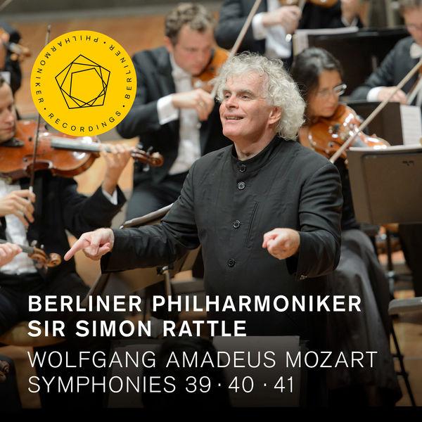 Berliner Philharmoniker - Mozart: Symphonies Nos. 39, 40 & 41