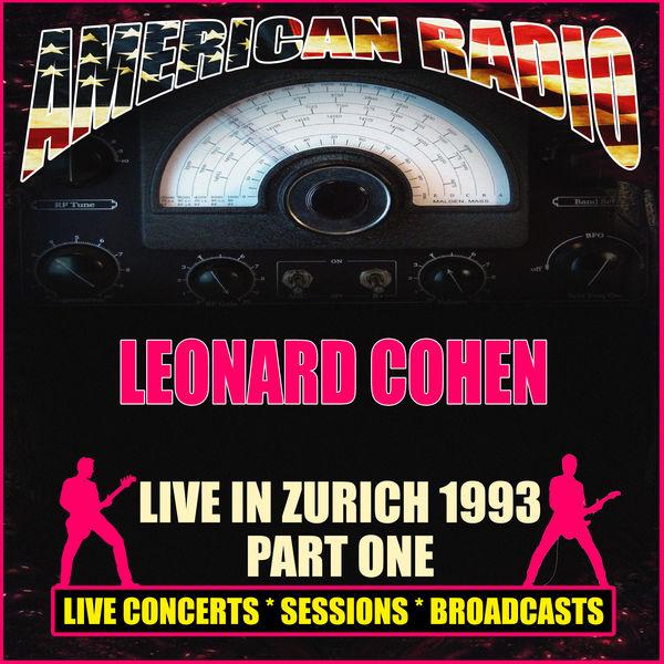 Leonard Cohen - Live in Zurich 1993 - Part One