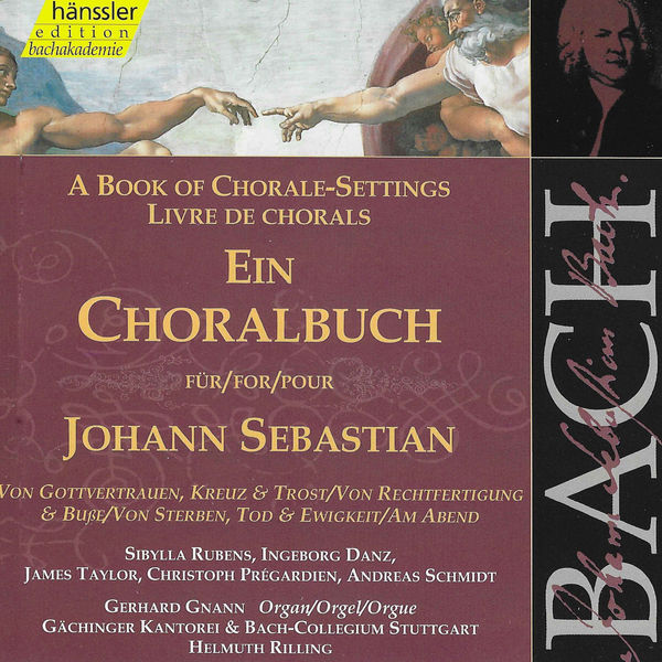 Gerhard Gnann - J.S. Bach: A Book of Chorale-Settings – Trust in God
