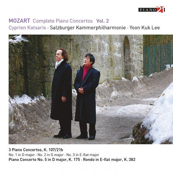 Cyprien Katsaris, Yoon Kuk Lee, Salzburger Kammerphilharmonie - Mozart: Complete Piano Concertos, Vol. 2 (Live)