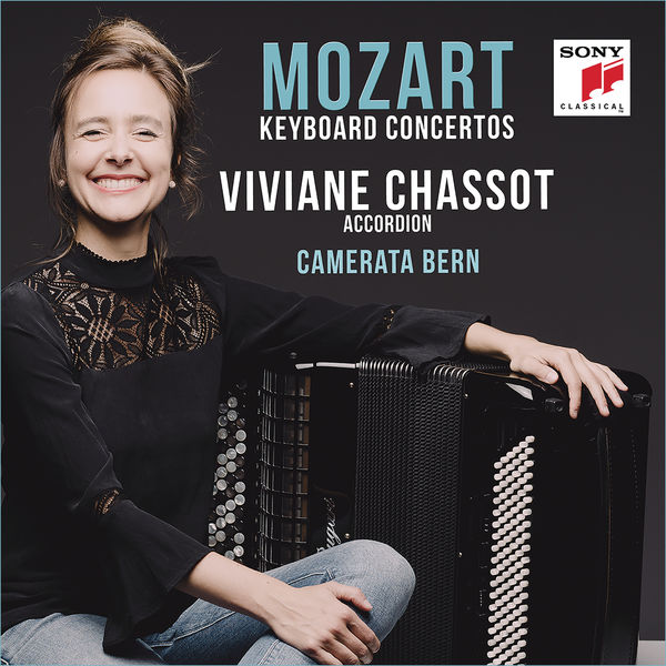 Viviane Chassot - Mozart: Piano Concertos Nos. 11, 15 & 27 (Performed on Accordion)