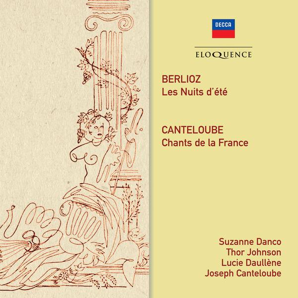 Suzanne Danco - Berlioz:Nuits d'été - Canteloube:Chants de France