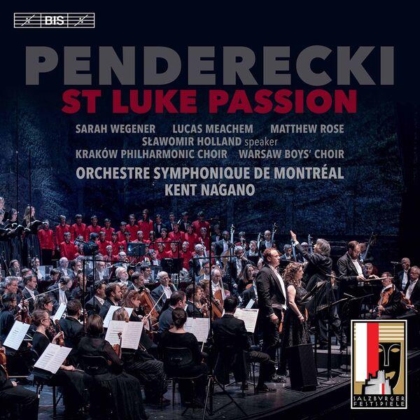 Warsaw Boys Choir - Penderecki: St. Luke Passion (Live)
