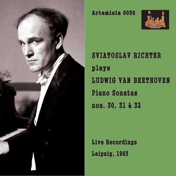 Sviatoslav Richter - Beethoven: Piano Sonatas Nos. 30-32 (Live)