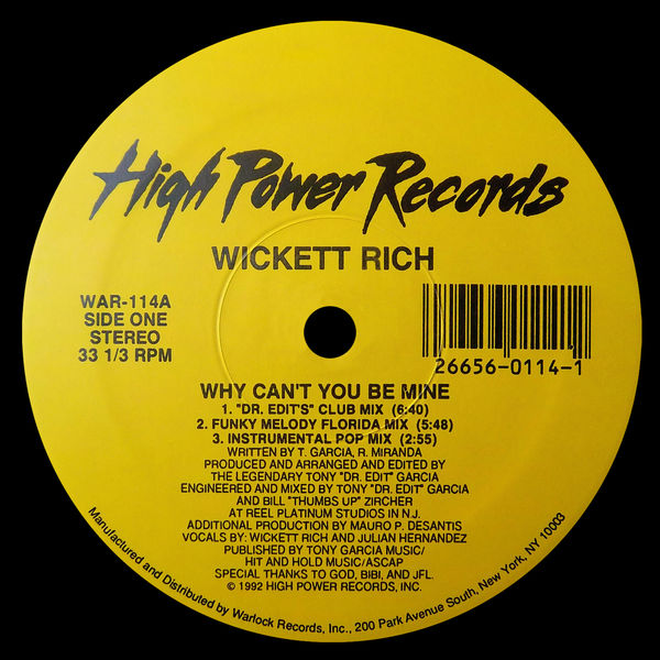 Wickett - Why Can't You Be Mine