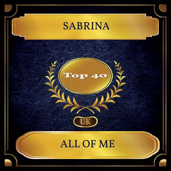 Sabrina - All Of Me