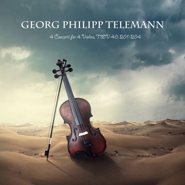 Georg Philipp Telemann - 4 Concerti for 4 Violins, TWV 40: 201-204